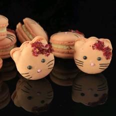 Kitty玫瑰法式马卡龙