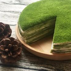 绿荫抹茶千层蛋糕