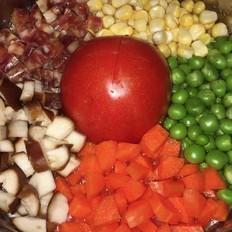 整个番茄饭(电饭煲懒人焖饭)