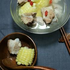 高压锅玉米煲排骨