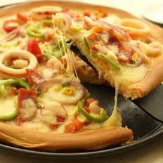 海鲜大狂欢披萨——家庭版(冷藏发酵)