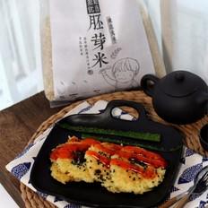 鸡蛋咸香大米煎饼的做法