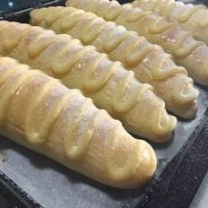 65°C汤种法毛毛虫面包