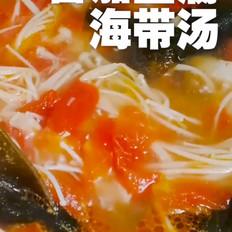 鲜香番茄豆腐海带汤