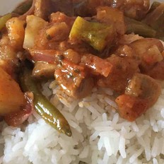 咖喱什锦菜