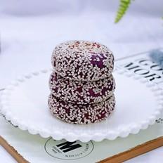 紫薯红糖糯米饼