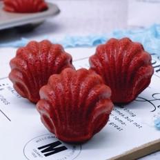 红丝绒玛德琳蛋糕的做法