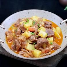 酸汤土豆绘牛肉