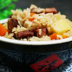 腊肉土豆饭