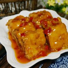鱼香豆腐夹