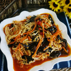 鱼香金针菇的做法