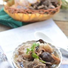 目鱼香菇排骨汤
