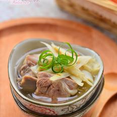 绿笋排骨汤
