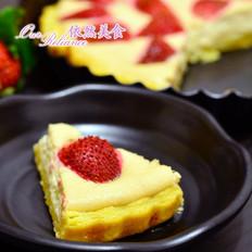 酸酸甜甜草莓派
