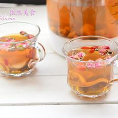 养生壶-玫瑰花草茶