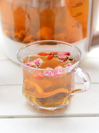 养生壶-玫瑰花草茶的做法