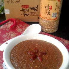藜麦三红米糊