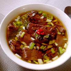 麻油猪血汤