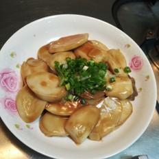 烧汁杏鲍菇的做法