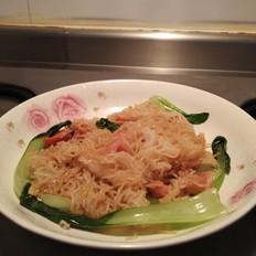 肠仔青菜炒米粉