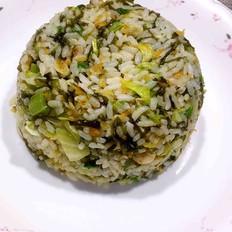 葱油炒菜饭