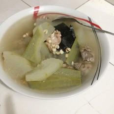 养颜排毒冬瓜汤