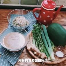 包饺子总是剩下馅怎么办?剩馅的神奇转变---冬瓜香菜猪肉丸汤\n\n\n