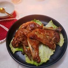 电饭锅焗鸡腿