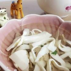 笋干豆腐汤