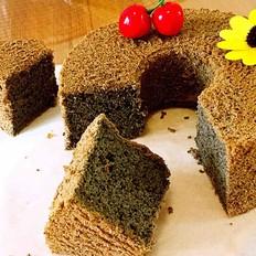 黑芝麻戚风蛋糕的做法