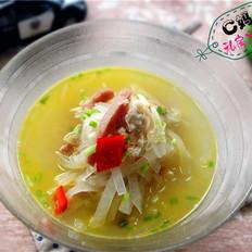 文蛤银丝汤