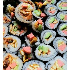 紫菜包饭寿司家庭简易款
