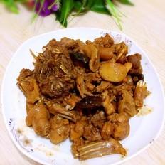 香菇烧兔肉