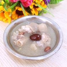 花生红枣猪蹄汤