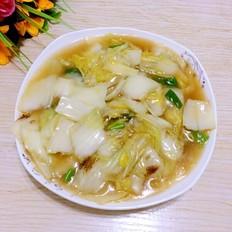 蚝油大白菜