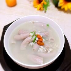 猪小肠薏仁汤
