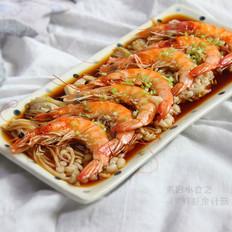 鲜虾金针菇