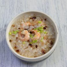 松茸虾油海鲜粥