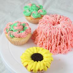 杯子蛋糕裱花