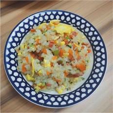 营养蛋炒饭