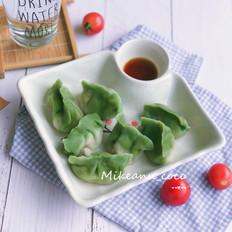 虾仁三鲜馅儿翡翠白玉水饺