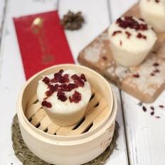 蔓越莓奶香发糕(12+)【酵母版】
