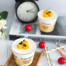黄金芒果椰奶冻