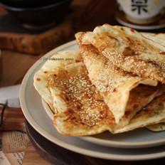 湖北大悟县特色香葱薄饼