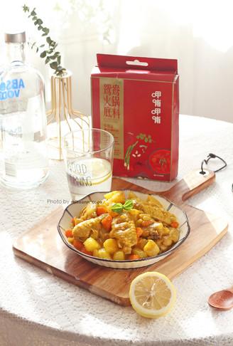 厨房小白也能轻松get的咖喱鸡翅的做法
