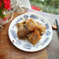 椒盐香煎带鱼的做法