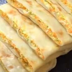 几分钟就能做好的五珍粉早餐馅饼,大家直说:太解馋了
