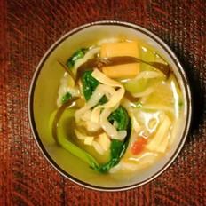 超级好吃的五珍粉蔬菜面做法,家常面条这样做,好吃又简单!
