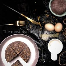 黑米蒸蛋糕