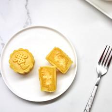 金沙流心奶黄月饼